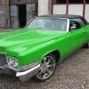 Cadillac Deville 1970 convertible custom